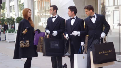 Event Staff Bond Street